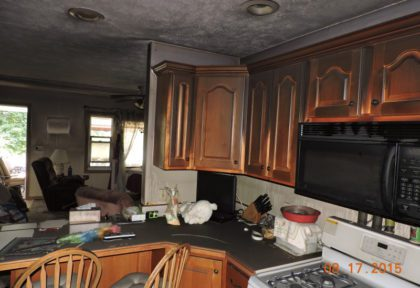 Before Fire Damage Remodel