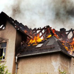 Roof on Fire