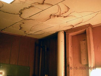 Water Ceiling Damage